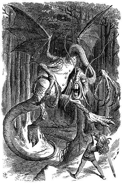 Jabberwocky de John Tenniel (1871)