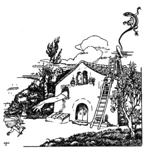 Lola Anglada: la masia on Alícia és atrapada.