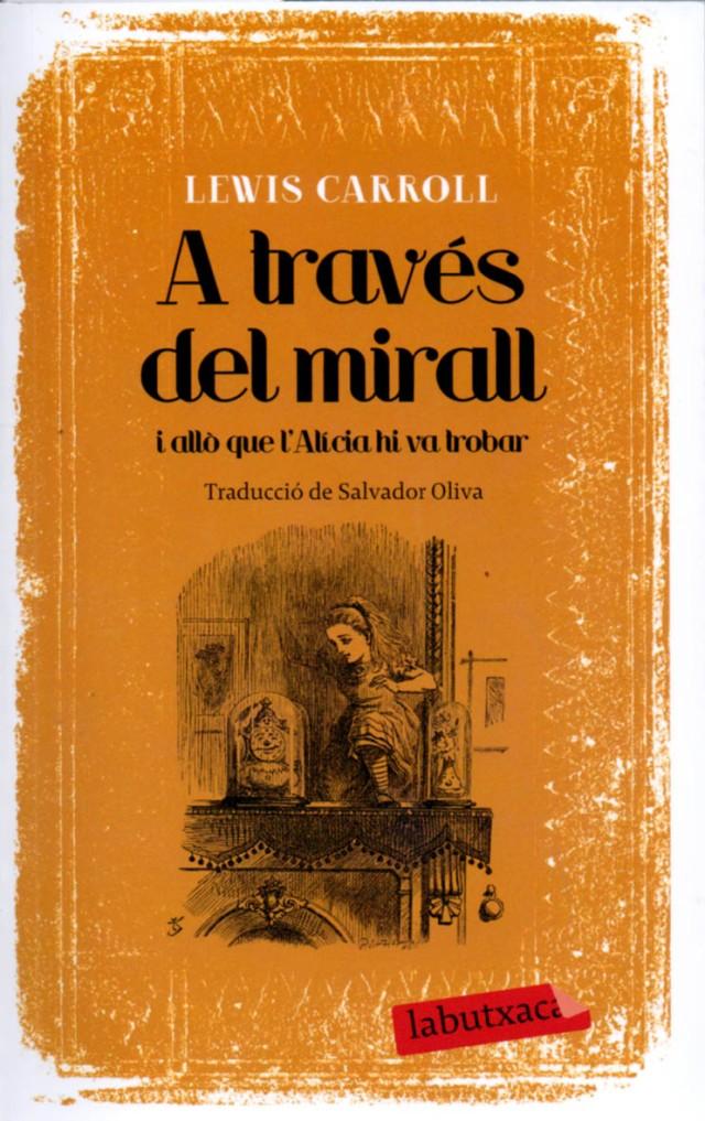 A través del mirall, traducció de Salvador Oliva. Fitxa 19