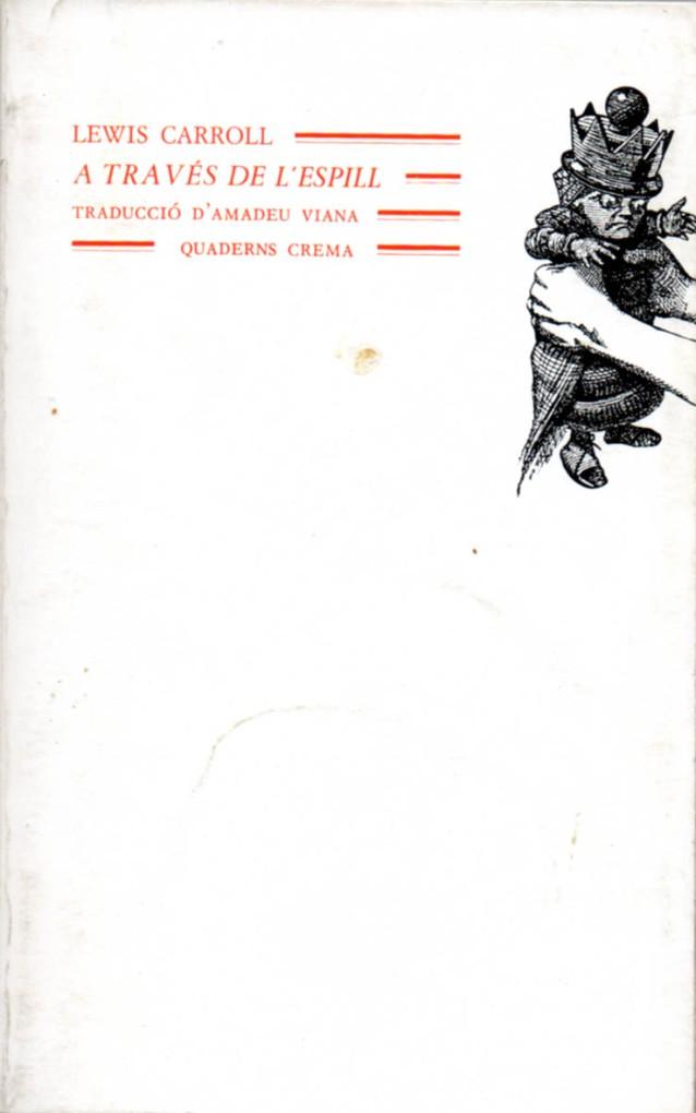 A través de l'espill, traducció d'Amadeu Viana. Fitxa 18
