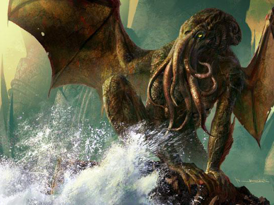 Una de les versions de Chthuthl, de Lovecraft