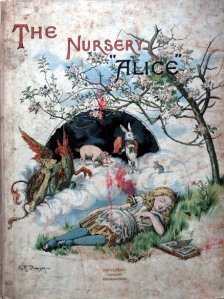 "Portada de The Nursery ""Alice"" d'Emily Gertrude Thomson"