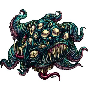Una de les versions de Nyarlathotep, de Lovecraft