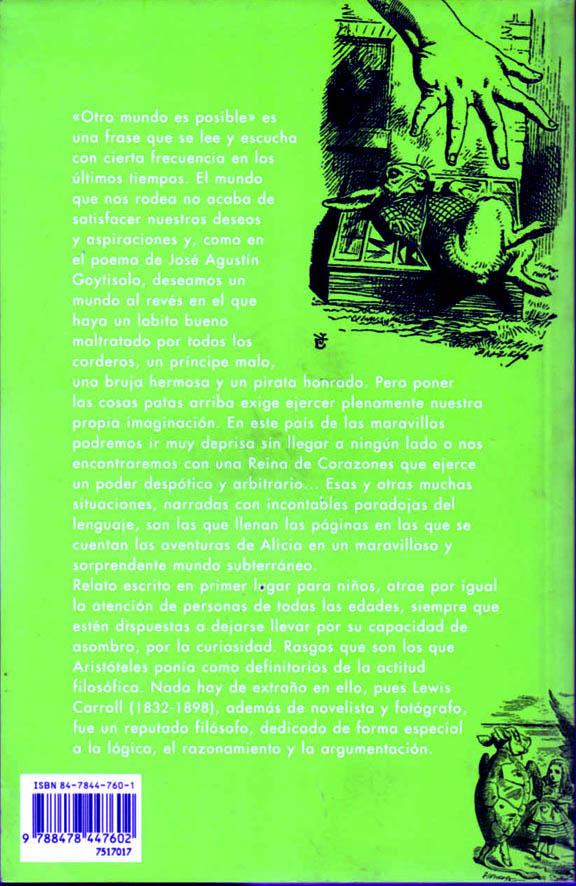 Contraportada. Text de difícil lectura però interessant. Fitxa 46