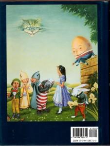 Contraportada de More Annotated Alice. Fitxa 37