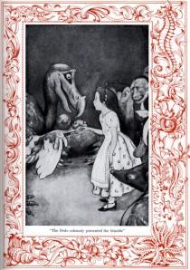 Una pàgina interior, amb dibuix de Peter Newell. Fitxa 37