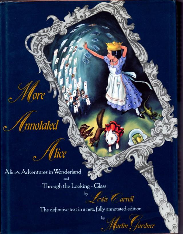 Portada de More Annotated Alice. Fitxa 37