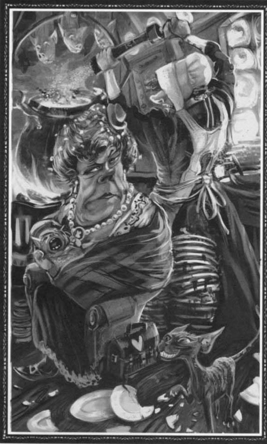 Dibuix del Gat i la Duquessa. Fitxa 47