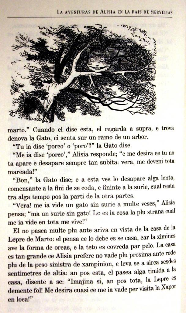 Una pàgina escrita en llengua franca nova. Fitxa 51.