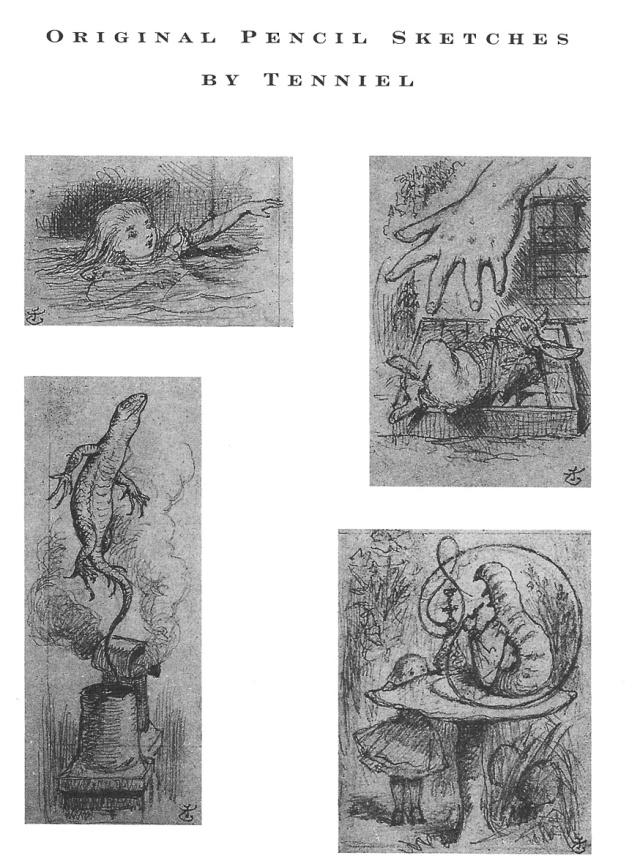 Alguns dibuixos de Sir John Tenniel