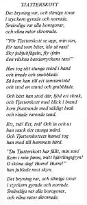 Jabberwocky en suec. Fitxa 70