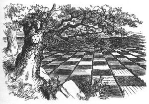 El País del Mirall, un tauler d'escacs