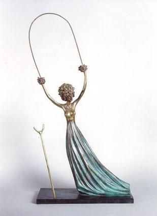 Bronze de 1977, de la Fundació Fran Daurel, Barcelona. 98*43*21 cm.