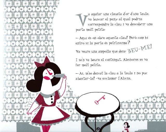 L'Alícia il·lustrada per Maján,  Fitxa 73 (fes clic per ampliar)