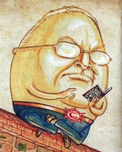 Humpty Dumpty - Helmut Kohl?