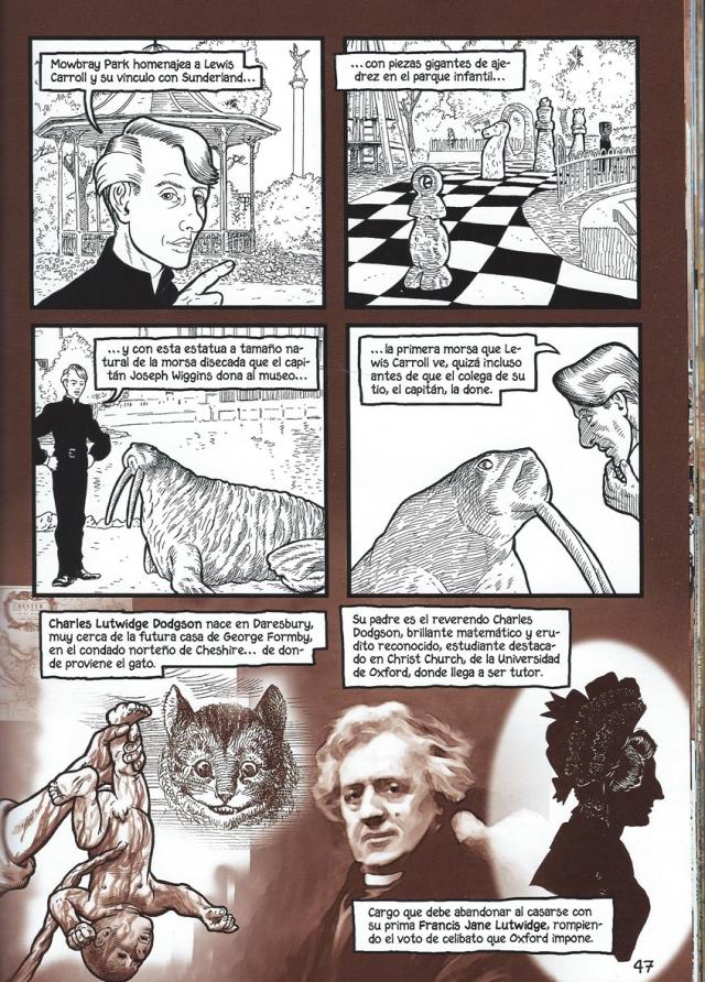 Una altra pàgina interior, amb la morsa i l'autor. Fitxa 93