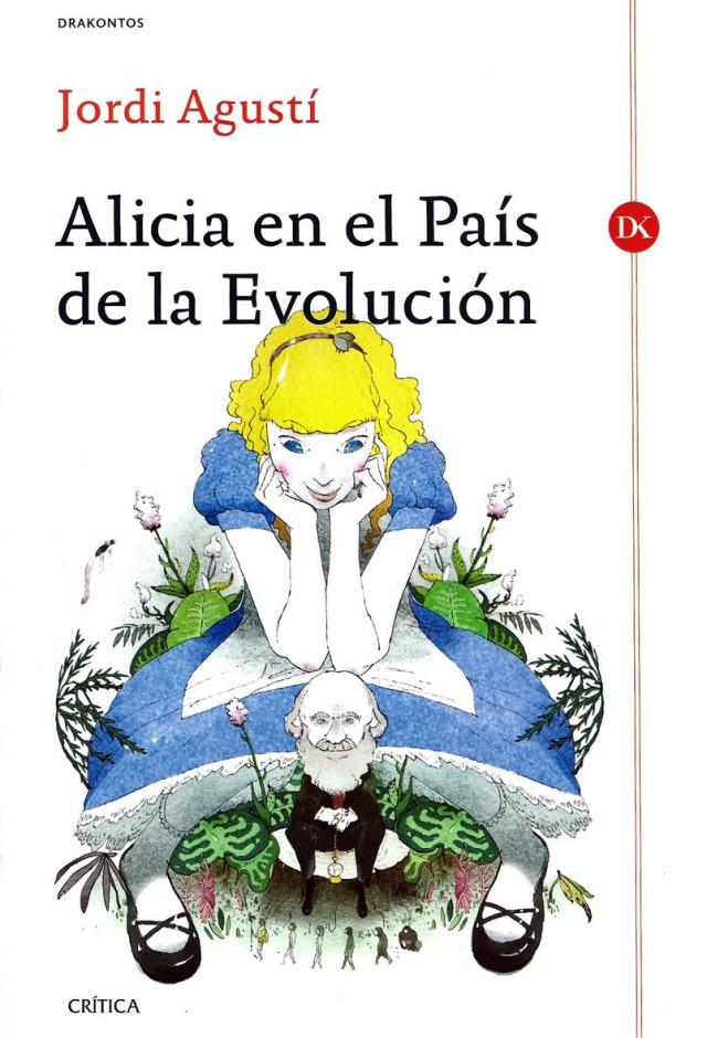 Portada de l'Alícia evolutiva, amb Darwin. Fitxa 112.
