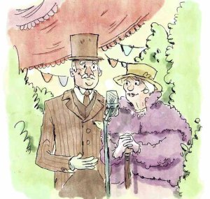 Alice Liddell Hargreave i Nicholas M. Butler. Fitxa 130.