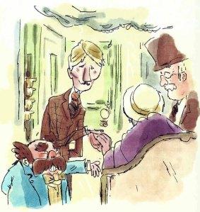 Alice saludant Peter Davies, Peter Pan. Fitxa 130.