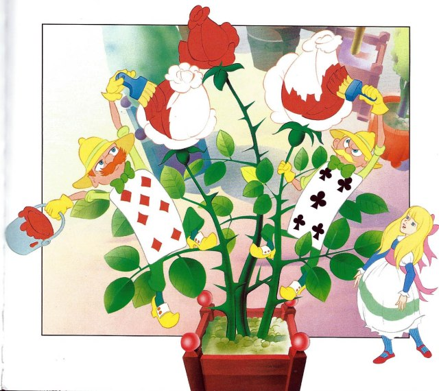 Pintant les roses. Fitxa 141.