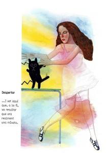 Sacsejant la Reina / gat. Fitxa 146. Fes clic per ampliar.