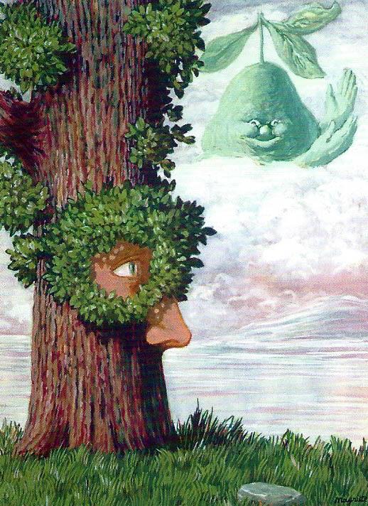 """René Magritte: """"Alice au Pays des Merveilles"""", 1946."""