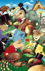 Fitxa 162. Imatge d'animals amb goril·la. Fes clic per ampliar.