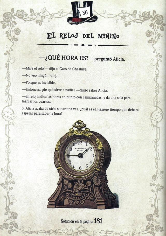 El problema de lògica del rellotge. Fitxa 171. Solució al final del post.