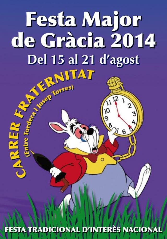 Cartell de les festes del carrer Fraternitat de Baix (EFIT)