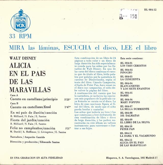 Tapa posterior del llibre-disc de la fitxa 178. Llegiu el text en blau per veure el funcionament del sistema.