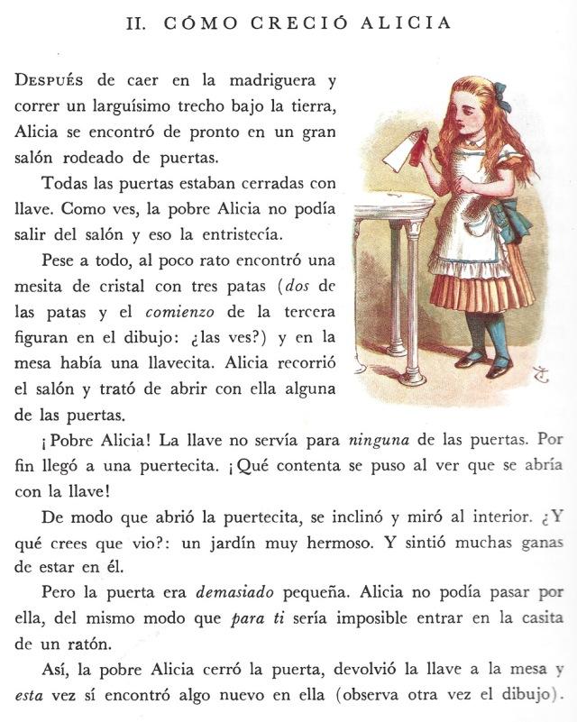 Fitxa  187, pàgina interior. Il·lustració de Tenniel i acoloriment de Thomson.