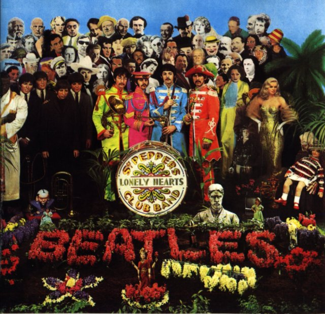 Caràtula del disc Sargent Peppers Lonely Hearth Club Band.