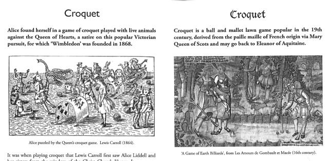Fitxa 198. Comparació del joc  de croquet. Fes clic per ampliar