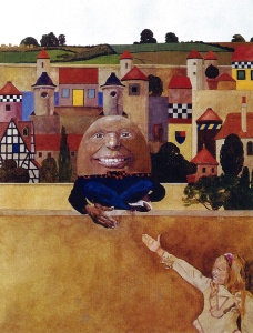 El Humpty Dumpty de Peter Blake, Fitxa 197. Fes clic per ampliar.