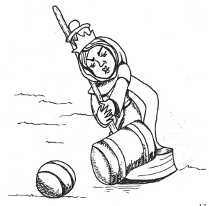 Una de les il·lustracions de Cynthia Browner. Fes clic per ampliar.