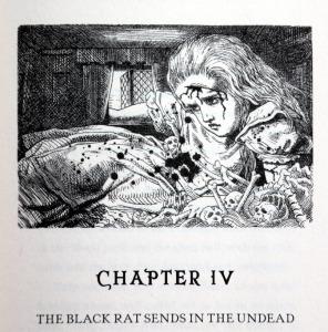 L'Alícia ferida i tacada de sang a la casa de la Rata Negra. Fitxa 203. Fes clic per ampliar