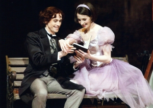 Pròleg, amb l'Alíce Liddell i Lewis Carroll. Fes clic per ampliar.