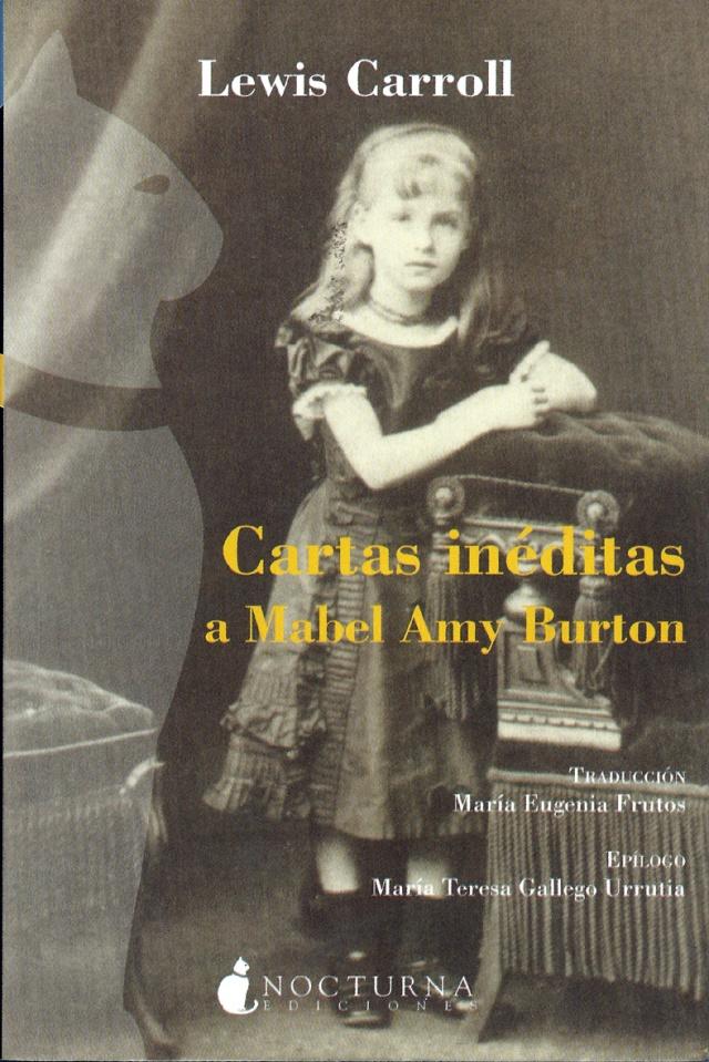 Portada. Foto de Mabel A. Burton, de Charles L. Dodgson . S'hi aprecia la misteriosa silueta de gat que havia sortt també a l'entrada 167