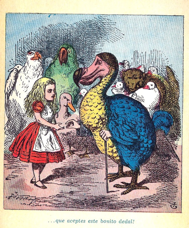 Una de les il·lustracions acolorides. Fitxa 219.