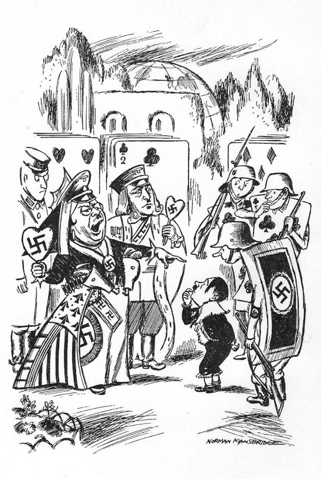 Fitxa 261. Himmler com la Reina de Cors