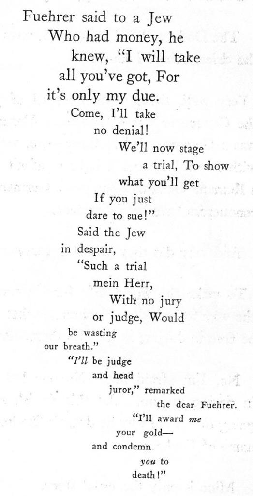 Fitxa  261. Poesia sobre la rata jueva.