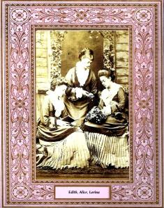 Les tres germanes Liddell de joves. No em consta l'autor. Fes clic per ampliar