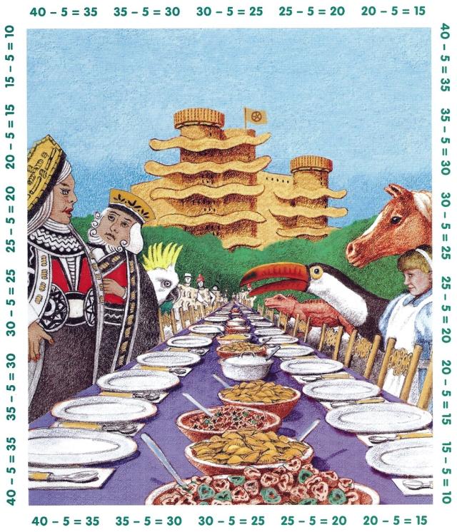 Fitxa 280. El dinar de la Reina, amb deu tipus de pasta diferents.