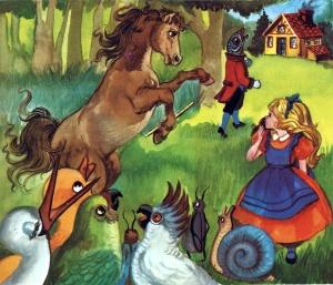 El cavall d'Ediciones Toray. Fes clic per ampliar.