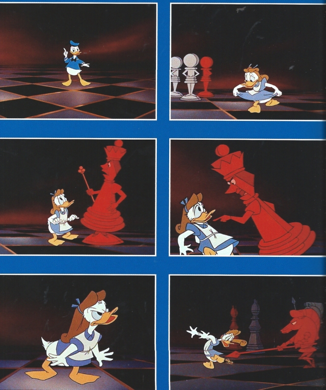 Fotogrames de Donald in Mathmagic Land. Fes doble clic per ampliar.